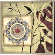 Printed Moonlit Rosette II Fine-Art Print