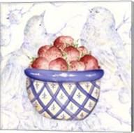 Toile & Berries I Fine-Art Print