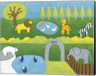 Storybook Zoo Fine-Art Print