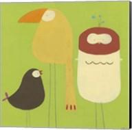 Feathered Friends I Fine-Art Print