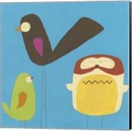 Feathered Friends IV Fine-Art Print