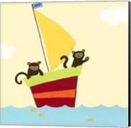 Sailboat Adventure III Fine-Art Print
