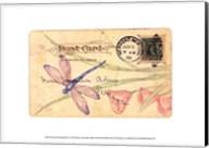 Postcard Dragonfly II Fine-Art Print