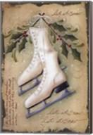 Vintage Ice Skates Fine-Art Print