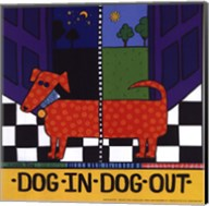 Dog In-Dog Out Fine-Art Print