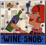Wine Snob Fine-Art Print