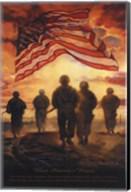 Bless America's Heroes Fine-Art Print