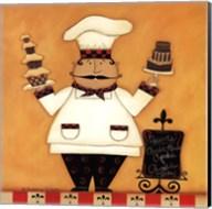 Chef with Desserts Fine-Art Print
