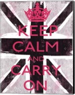 Keep Calm And Carry On 3 Fine-Art Print