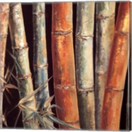 Caribbean Bamboo I Fine-Art Print