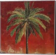 La Palma on Red I Fine-Art Print
