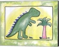 Lil Green Dino Fine-Art Print