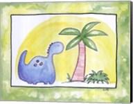 Lil Blue Dino Fine-Art Print