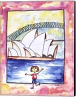 Girl In Sydney Fine-Art Print