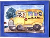 School Bus Fine-Art Print