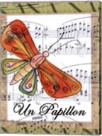 Un Papillon Fine-Art Print