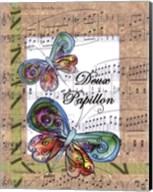 Deux Papillon Fine-Art Print