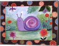 Patchwork Snail Fine-Art Print