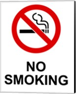 No Smoking - Small Fine-Art Print