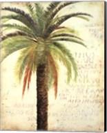 Palms and Scrolls II Fine-Art Print