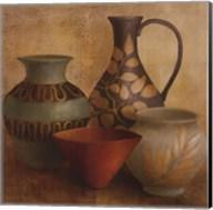 Decorative Vessel Still Life I detail Fine-Art Print