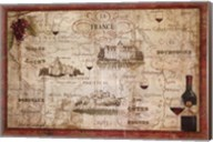 Wine Map Fine-Art Print