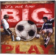 Big Play Fine-Art Print