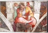 Sistine Chapel Ceiling: The Prophet Jeremiah Fine-Art Print