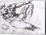 Study for the Creation of Adam Fine-Art Print