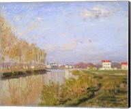 The Seine at Argenteuil, 1873 Fine-Art Print