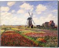 Tulip Fields with the Rijnsburg Windmill, 1886 Fine-Art Print