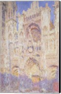 Rouen Cathedral at Sunset, 1894 Fine-Art Print