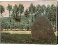 Haystacks near Giverny, c.1884-89 Fine-Art Print