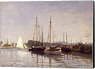 Pleasure Boats, Argenteuil, c.1872-3 Fine-Art Print