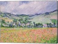 The Poppy Field near Giverny, 1885 Fine-Art Print