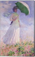 Woman with a Parasol turned to the Right, 1886 Fine-Art Print