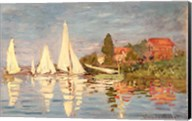 Regatta at Argenteuil, c.1872 Fine-Art Print
