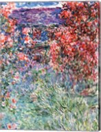 The House at Giverny under the Roses, 1925 Fine-Art Print