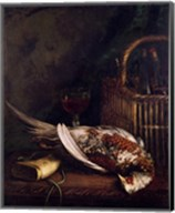 Still Life with a Pheasant, c.1861 Fine-Art Print