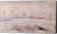 Frost near Vetheuil, 1880 Fine-Art Print