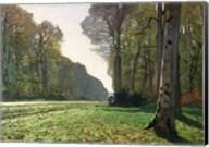 The Road to Bas-Breau, Fontainebleau (Le Pave de Chailly), c.1865 Fine-Art Print