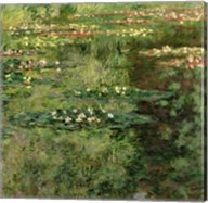 The Waterlily Pond, 1904 Fine-Art Print