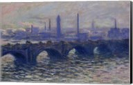 Waterloo Bridge, 1902 Fine-Art Print
