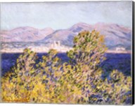 View of the Cap d'Antibes with the Mistral Blowing, 1888 Fine-Art Print