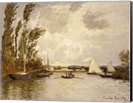 The Little Branch of the Seine at Argenteuil Fine-Art Print