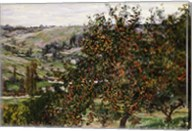 Apple Trees near Vetheuil Fine-Art Print