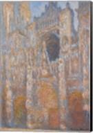 Rouen Cathedral, Facade, 1894 Fine-Art Print