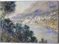Monte Carlo, Vue de Cap Martin, 1884 Fine-Art Print