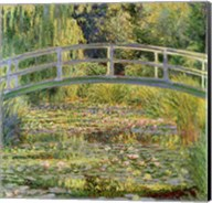 Waterlily Pond, 1899 Fine-Art Print
