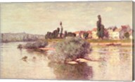 The Seine at Lavacourt, 1880 Fine-Art Print